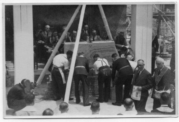 雍仁會館重建奠基儀式